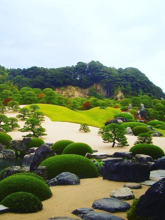 Adachi Museum Of Art Yasugi Shimane Google Search 日本庭園の設計 日本の景色 足立美術館