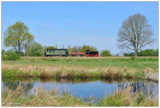 Ein alter Diesel am Lindenberger Teich