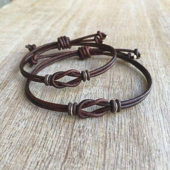 Couples Bracelets His and hers Bracelet Couples por Fanfarria