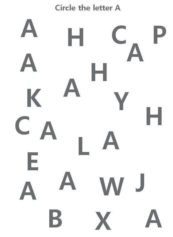 Trace the Letter A Worksheet | Home School | Pinterest | The o ...