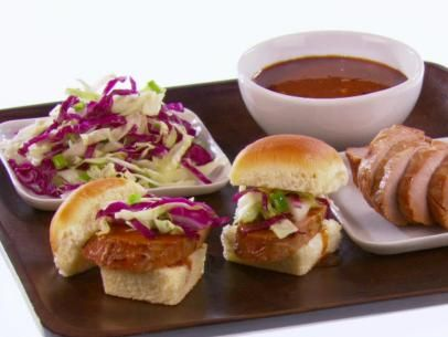 Sweet and Sour Pork Sliders from Giada