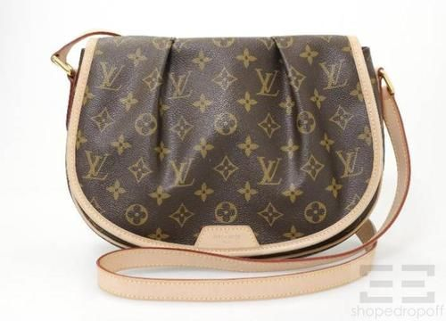 celine black purse - Louis Vuitton Monogram Canvas Menilmontant PM Crossbody Bag on ...