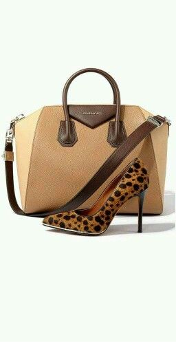 Brown tones, leopard...