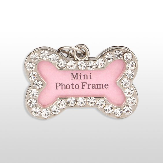 Bone shaped identification tag for your dog
