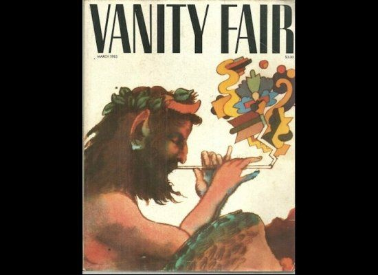 First cover of Vanity Fair