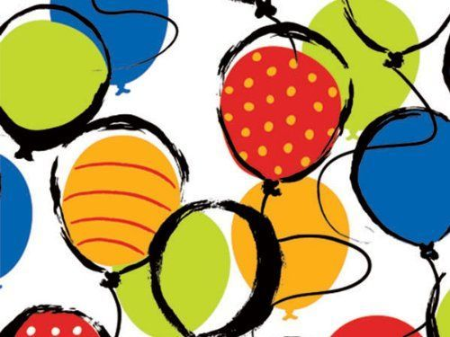 BALLOON POP! 24'x833'Gift Wrap Full Ream Roll (1 unit, 1 pack per unit.) * Continue to the product at the image link.