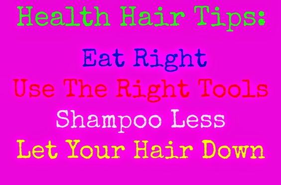 Spa Day: 4 Tricks To Healthy Hair