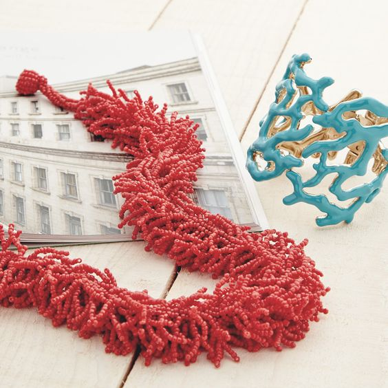 Bold-hued extras. #Accessories