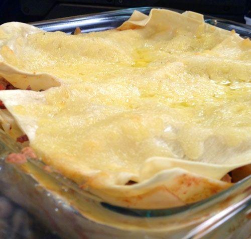 Lasaña de Carne   Receta de Dore Ferriz en AguayAjo.com