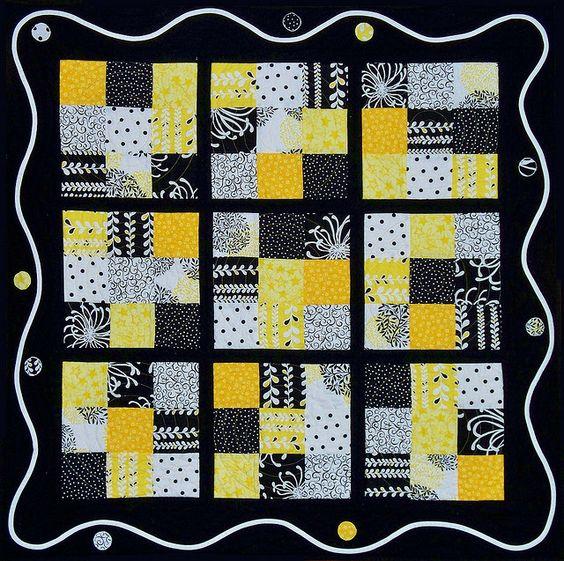 Sudoku Streetlight by EschHouseQuilts, via Flickr