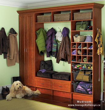 LOVE this custom built mudroom organizer....we can create a custom one just for you!
