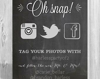 follow us on instagram template - chalkboard hashtag sign template google search company