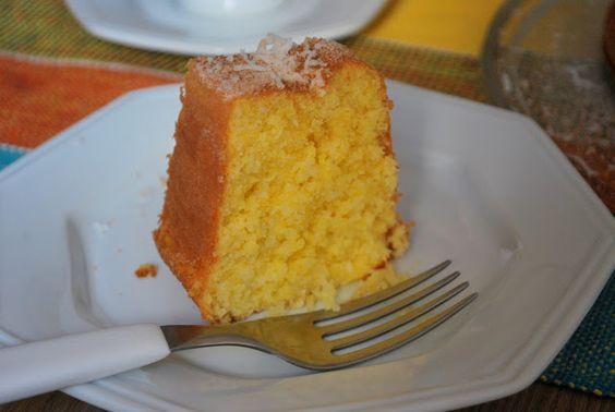 ... cornmeal cake bolo de fubá cornmeal cake bolo de fuba recipes