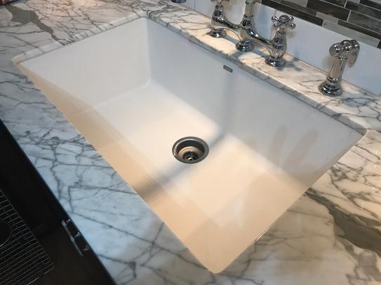 Reviews For Blanco Precis Undermount Granite Composite 32 In Single Bowl Kitchen Sink Metallic Gray 440148 The Home Depot Silgranit