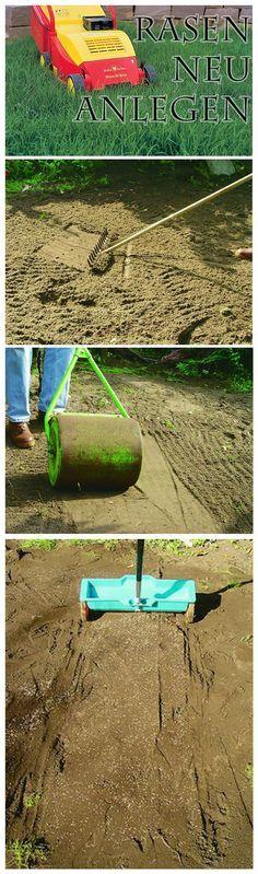 Rasen ist so etwas wie der Teppichboden des Garten. Damit die Halme den Boden dicht und fest bedecken, sollten Sie bereits bei der Aussaat der Grassamen einige Dinge beachten. Wir geben Tipps, wie du den Rasen neu anlegen  und dich so dauerhaft an dichtem Grün erfreuen kannst!