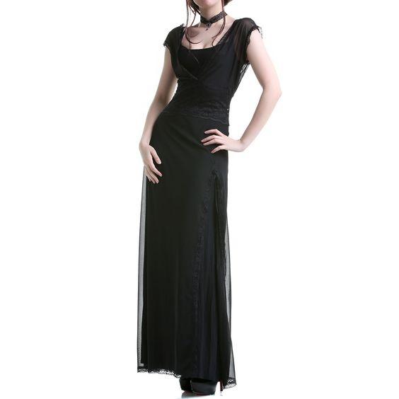 Vestido Gótico Transparente | Crazyinlove España