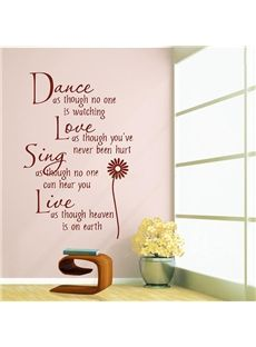 ... wall stickers quotes stickers love poem paradise quote wall murals