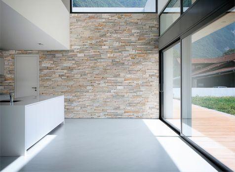 Decopanel paneles de piedra para decoraci n interior - Paredes de piedra para interiores ...