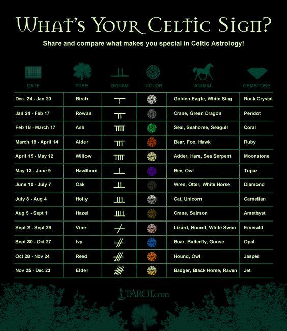 celtic signs and symbols http://apanache.wordpress.com/irish-claddagh-ring/irish-astrology-symbols/