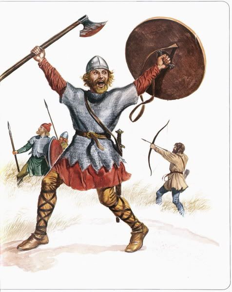 Saxon, Viking and Norman by Terrence Wise & G.A.Embleton