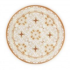 Talavera in Natural Melamine Dinnerware | Gracious Style