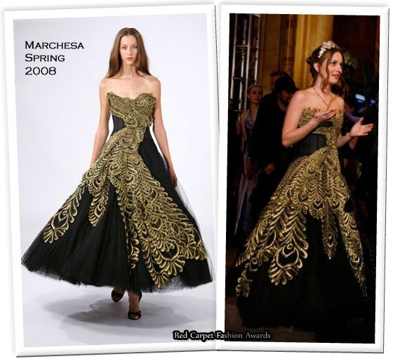 blair waldorf formal dress - photo #2