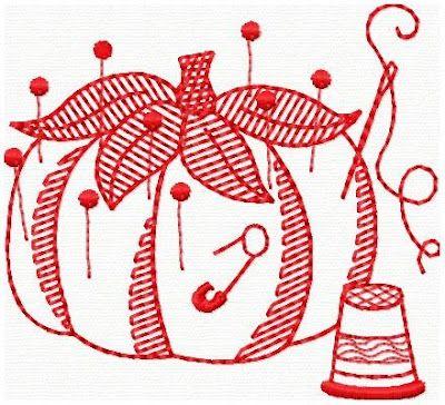 Entre Feltros e Tecidos :): Bordados Redwork