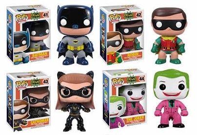Pop! Heroes BATMAN CLASSIC TV SERIES (Various) DC Universe FIGURE Funko *NEW*