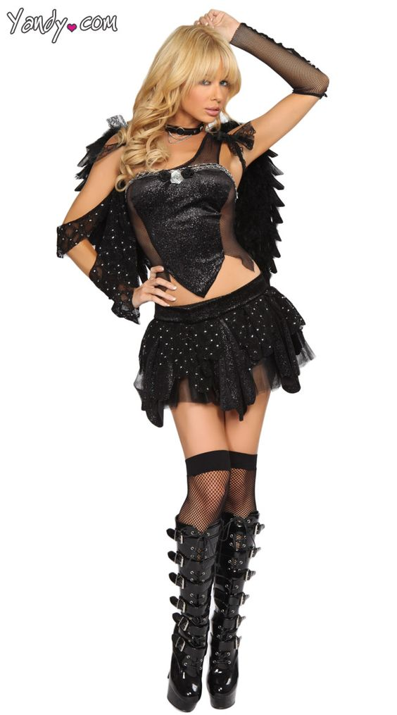 exclusive dark angel costume sexy dark angels and angel costumes. Black Bedroom Furniture Sets. Home Design Ideas