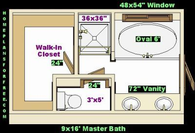 Master Bathroom Closet Combo Master Bath With Walk In Closet 9x16 Master Baths Left Ideas