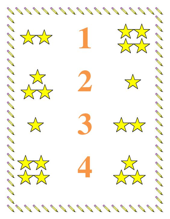 preschool worksheets Preschool Math Worksheet Numbers 14 – Math Worksheet Preschool