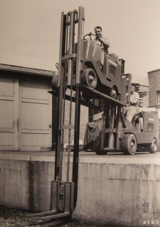 Sự phát triển của xe nâng - xe nâng goodsense