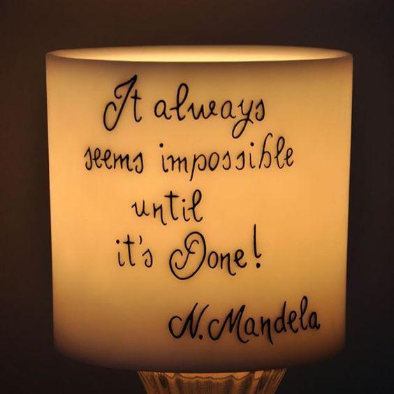 #Mandela #impossibleisnothing #positivevibes #frasi #quotes #candele #roma #romanord #vialeeritrea #quartiereafricano #candele #handmadecandles #candelefatteamano #candles #artigianato #madeinitaly #artigianatoitaliano