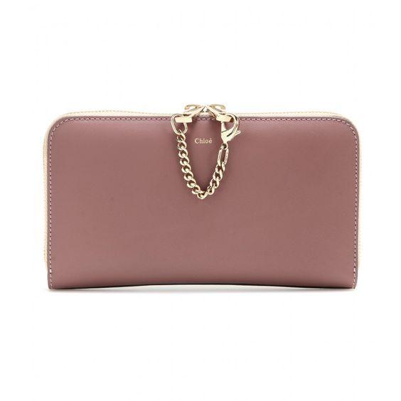 mytheresa.com - Baylee two-tone leather wallet - Chlo�� - Designers ...