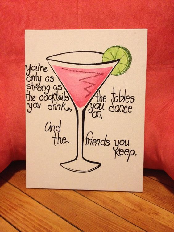21st Birthday present for the big! From The Sassy Sigma