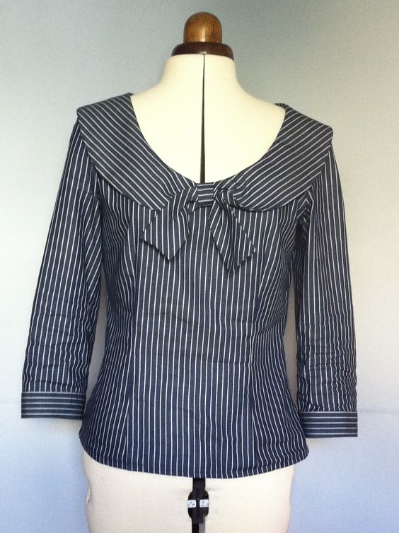 Blouse New Look 6808   Made by Me   Pinterest   Sailor ...