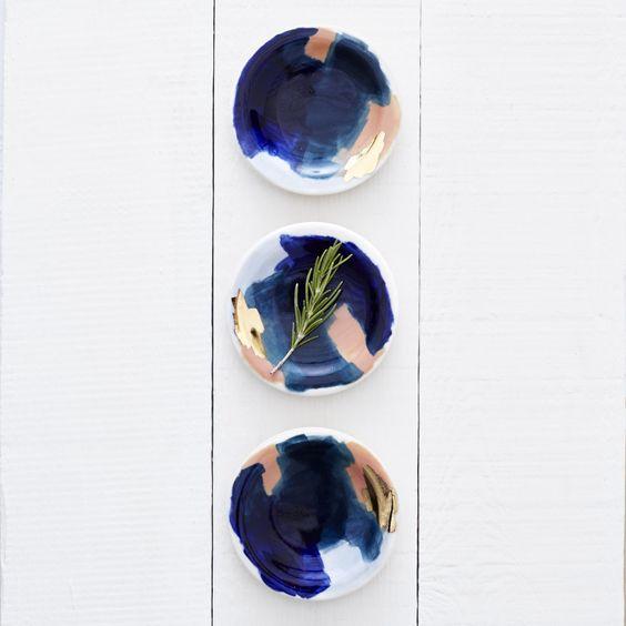 Love seeing inside Amy's studio! We carry her Redraven ceramic bowls in the shop. via Design*Sponge