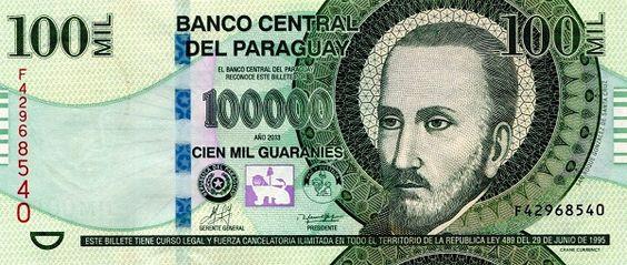 Matawang Paraguay (PYG) 1000000 Guaraníes