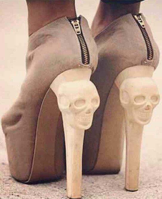 Skull heels: