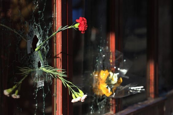 Blumen gegen den Schrecken