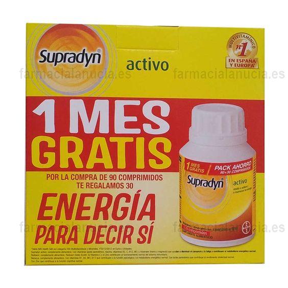 Supradyn Activo 120 comprimidos Pack Ahorro