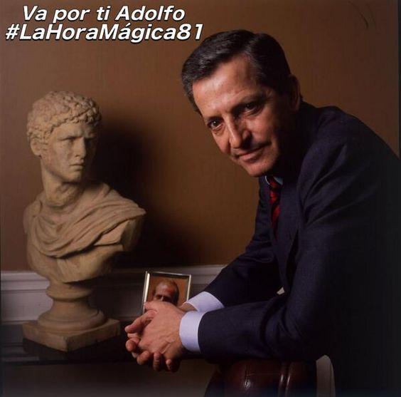 Adolfo Suárez- Murió el 23 marzo 2014-Primer presidente de gobierno de la democracia española actual.