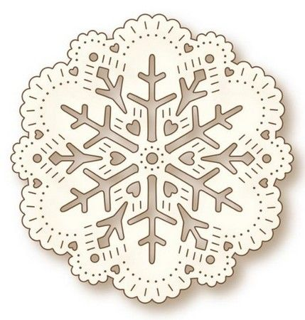 Wild Rose Studio - Dies - Snow Doily: