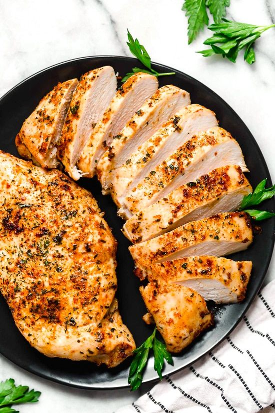 How To Make Juicy Air Fryer Chicken Breasts