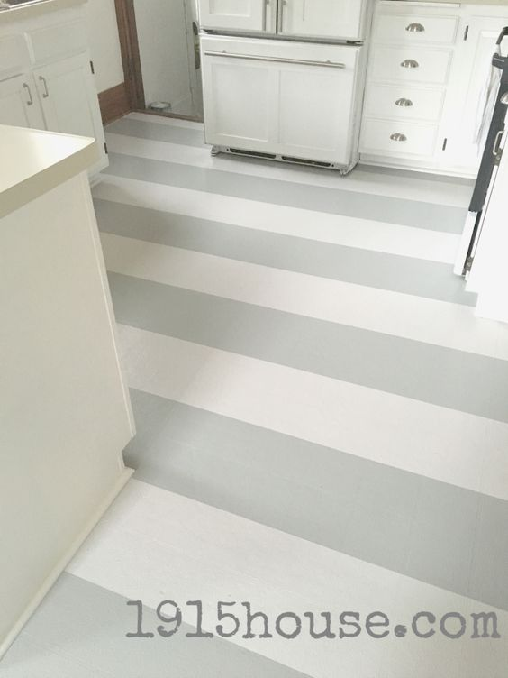 How to paint old linoleum kitchen floors beautiful how for Can linoleum be painted