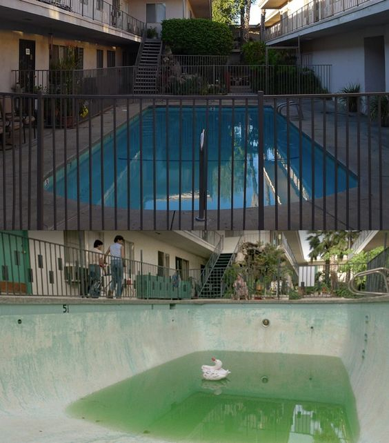 Apartment Building Karate Kid the karate kid (1984) south sea's apt. pool 19223 saticoy st