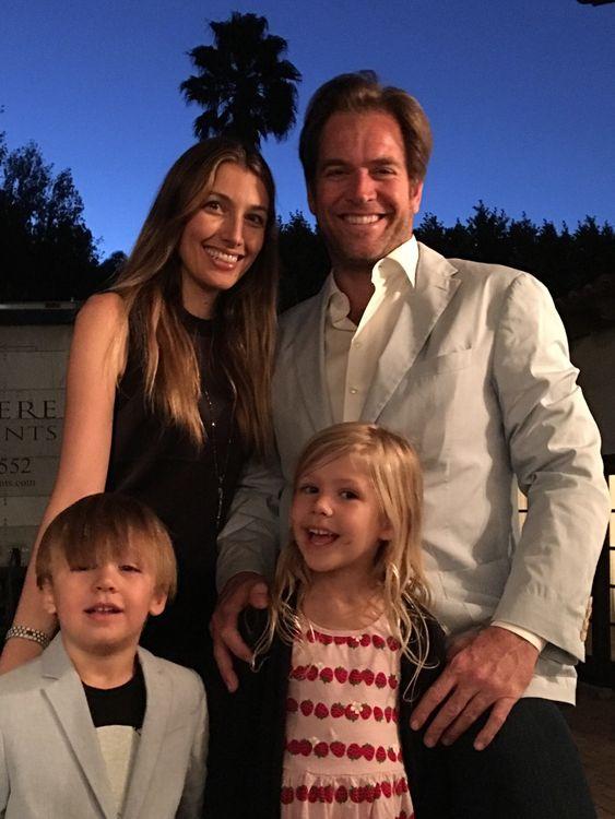 Michael s rodinou