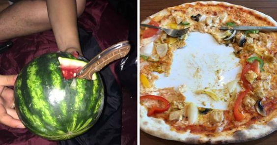 20 Τραγικοί Τύποι που Κατέστρεψαν το Φαγητό τους. Ο 6ος είναι ο Εφιάλτης κάθε Ψυχαναγκαστικού! Crazynews.gr