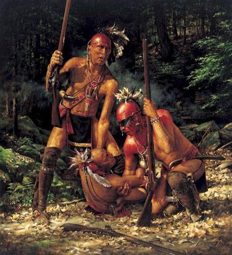 Tribus nativas durante la Guerra Franco-India
