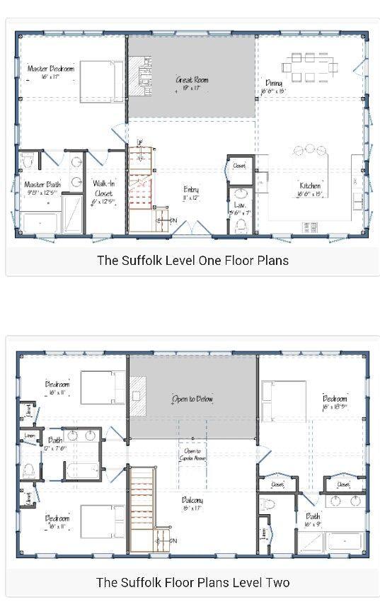21+ 4 bedroom pole barn house info